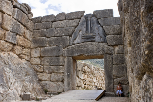 End of the Mycenaean Age: 1225 BCE to 1175 BCE