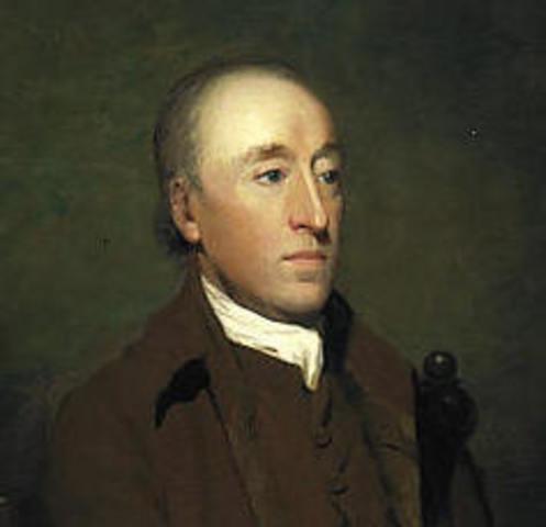 James Hutton is born