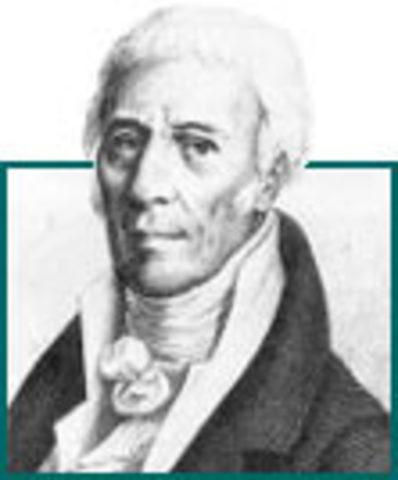 Jean Baptiste Lamarck is born