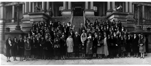GFWC Board Meets With Herbert Hoover