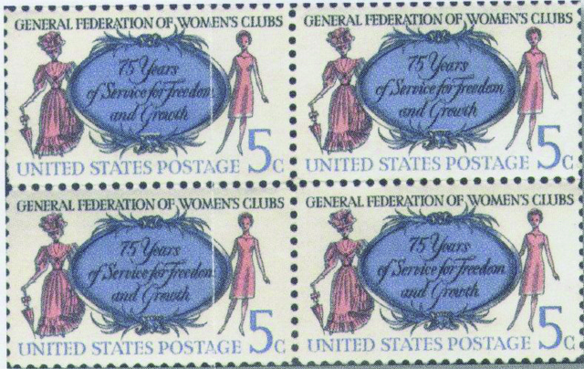 GFWC Awarded Stamp for 75th Anniversary