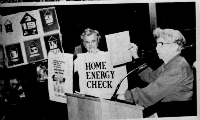 "GFWC Develops ""Home Energy Check"""