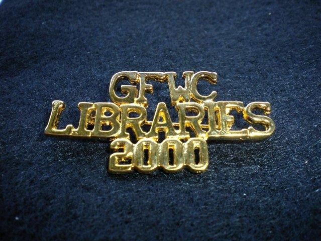 """GFWC begins """"Libraries 2000"""""""