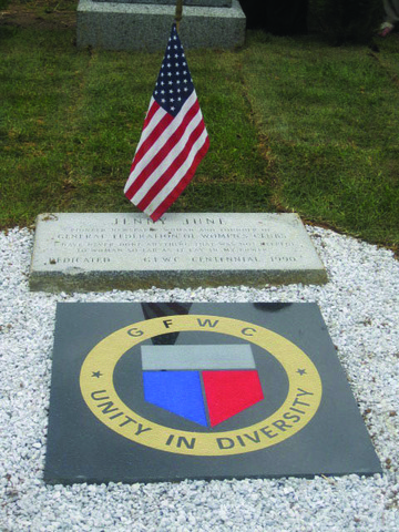 Grave Site Rededication for Jane Cunningham Croly