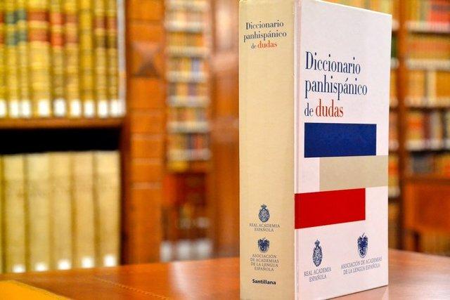 Publicación de Diccionario Panhispánico de dudas