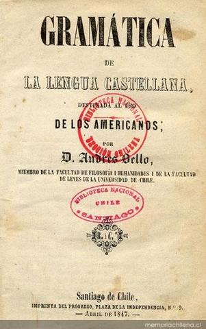 Eliminación de la grámatica Andrés Bello