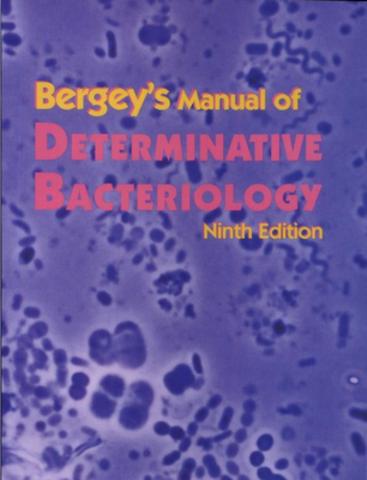 Manual Bergey de Microbiología.