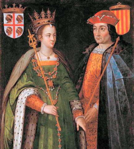 Unión de los reinos de Castilla y Aragón