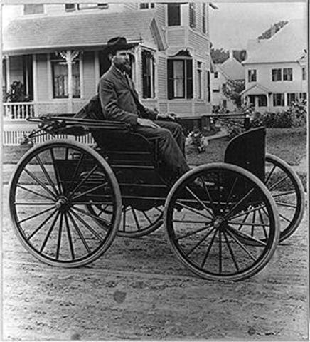 Guido da Vigevano designs the first wind driven vehicle.
