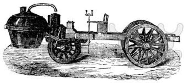 Father Ferdinand Verbiest built the first steam powered vehicle