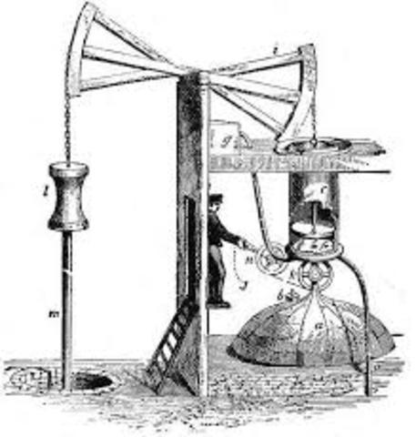 Thomas Newcomen builds first steam engine