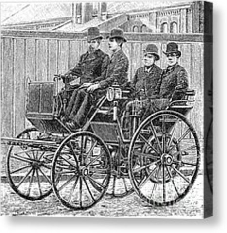 The blueprint for the modern automobile was perfected in Germany and France.