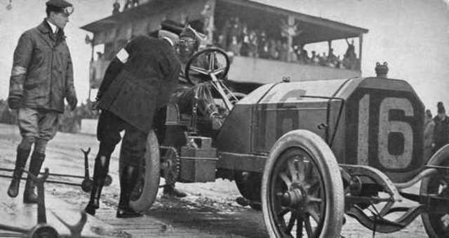 European engineers began tinkering with motor powered vehicles.