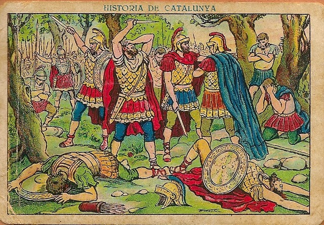 Termina dominación romana
