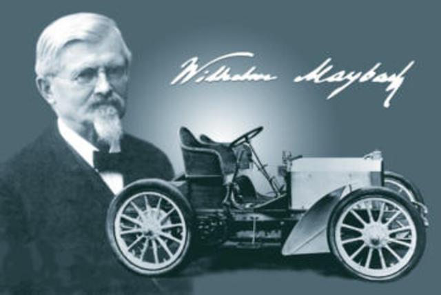 Wilhelm Maybach designs the first modern motorcar, a Mercedes, for Daimler Motoren Gesellschaft