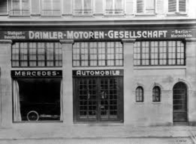 The most integrated automobile factory in Europe, Daimler Motoren Gesellschaft, employed some seventeen hundred workers to produce fewer than a thousand cars per year.