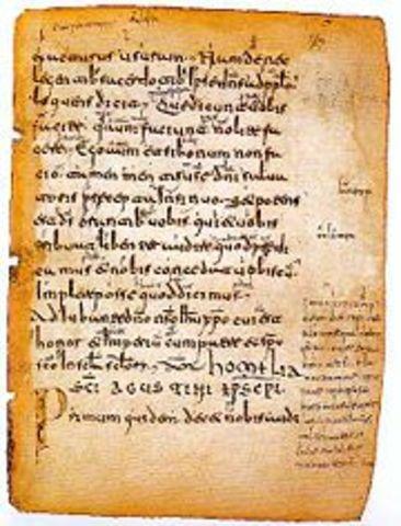 Primer texto escrito en español