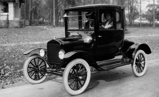 Ford's car production comprised nearly 56% of the total output.