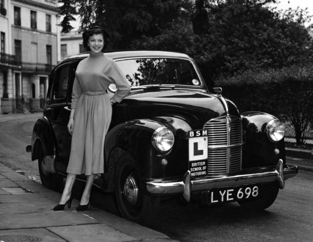 Driving tests were introduced in Britain.