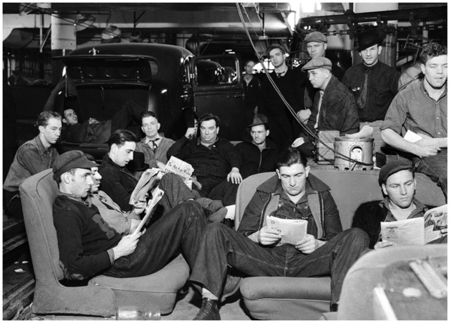Autoworkers at the General Motors Fisher Body No. 1 plant in Flint, Michigan, occupy the factory and begin a sit-down strike that lasts 44 days.