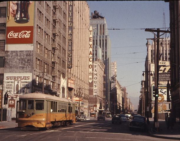LA ended streetcar service after 90 years.