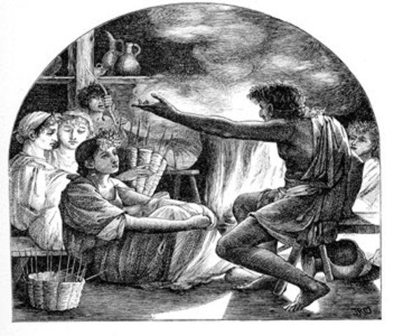 The Dark Age of Greece 1050 BCE to 900 BCE