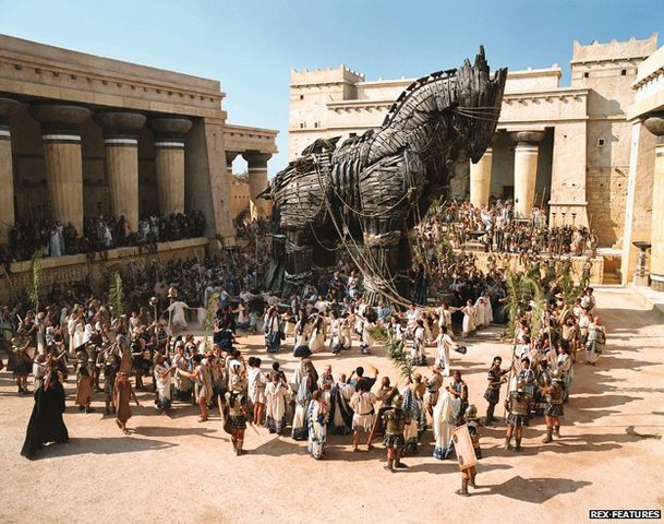 The Story of the Trojan War 1250 BCE?