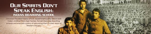 Native American Children forced into boarding schools