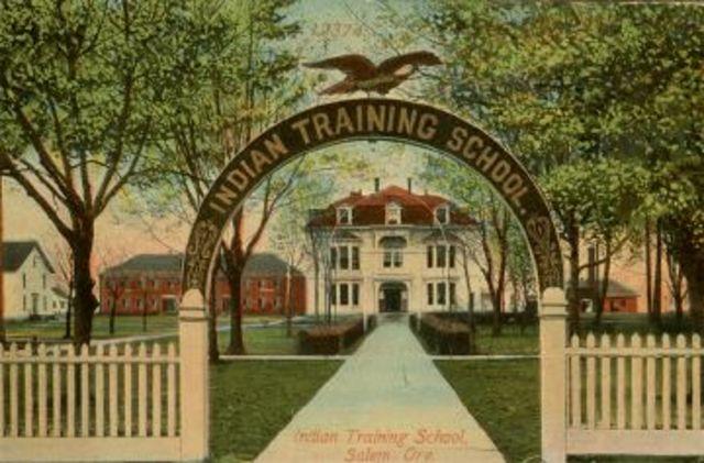 Bureau of Indian Affairs opens 1st boarding school