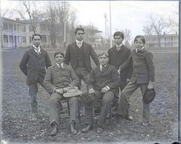An Indian boarding school