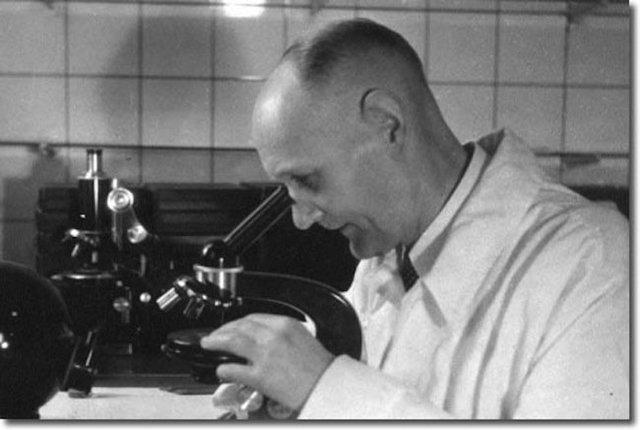 Domagk descubre las sulfamidas, el primer agente quimioterapeútico.