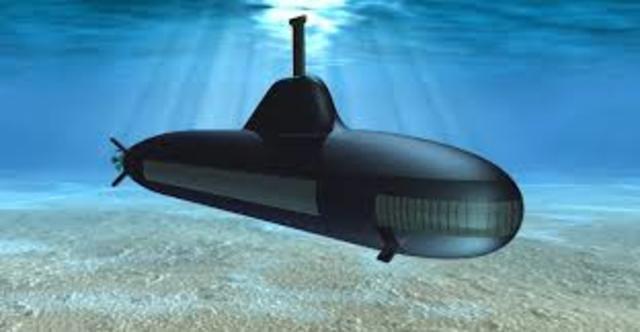 Submarine Invented