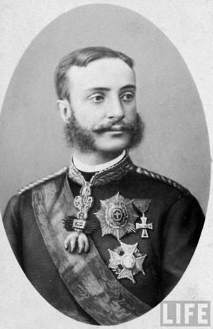 Alfonso XII rey de España