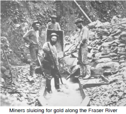Frazer River Gold Rush