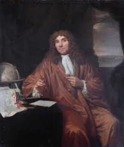 EN 1674 Anton van Leeuwenhoek Fue el primero en realizar importantes observaciones con microscopios fabricados por él mismo