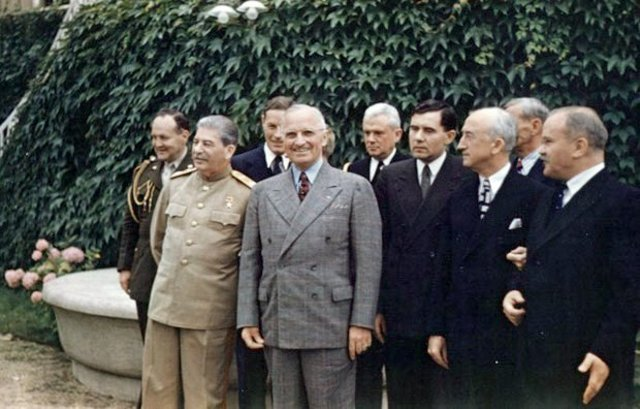 Post-war: the Potsdam Conference