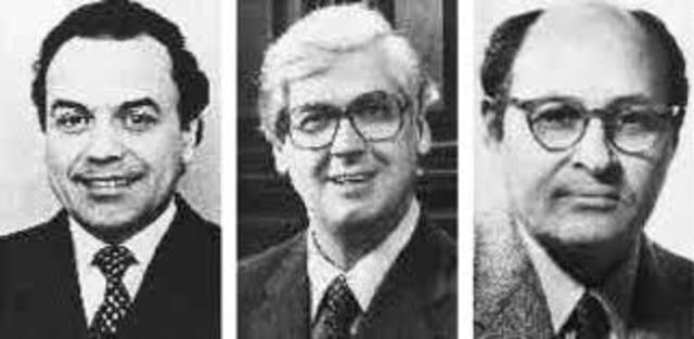 Werner Arber, Daniel Nathans y HamiltonSmith