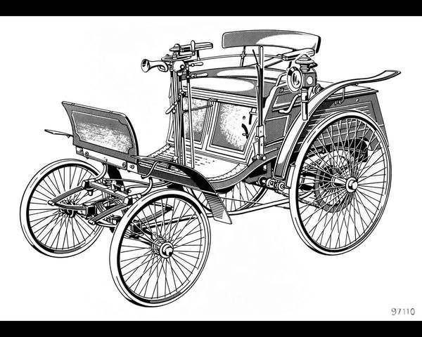 2hp Benz Velo imported by Henry Hewitson