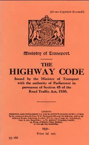 Introduction of Highway Code