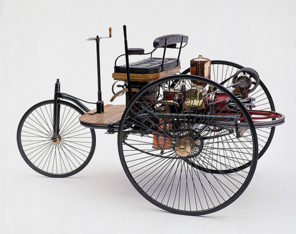 Patent of first Motor Vehicle