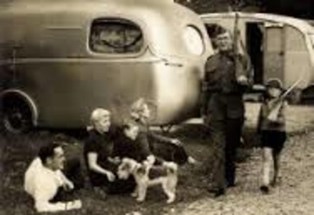 First Mass Produced Caravan