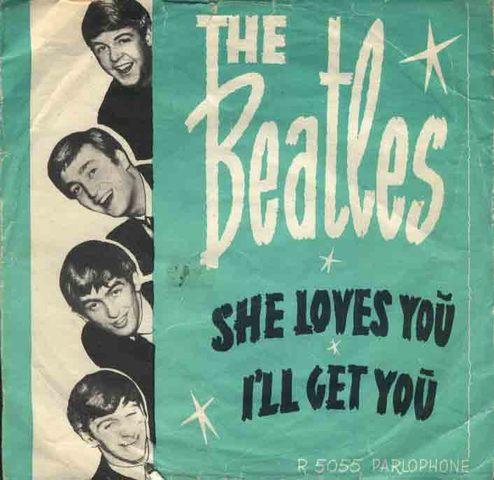 Beatlemanía EEUU She Loves You