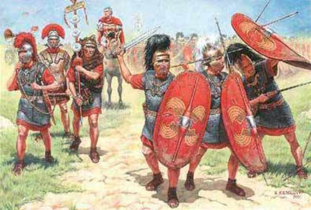 La dominaciòn romana en Hispania llega a su fin.