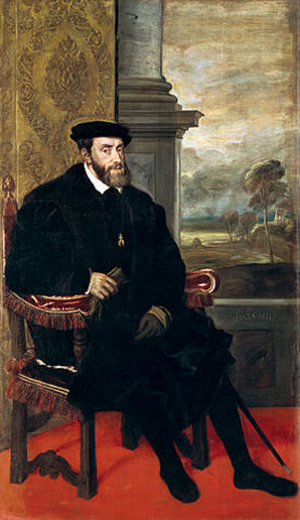 Carlos I, 1536.