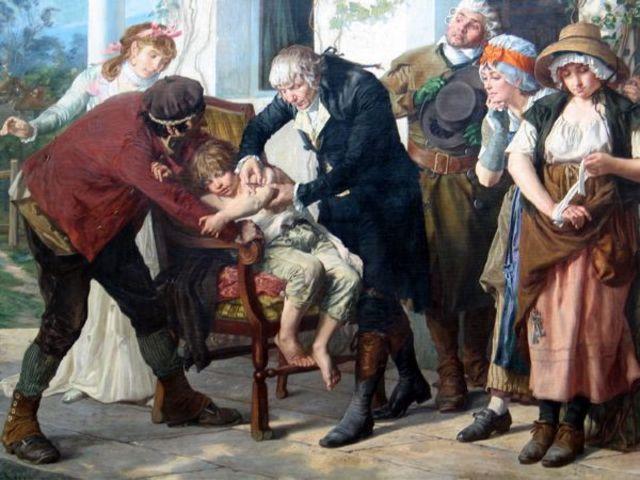 Primera vacuna contra la viruela