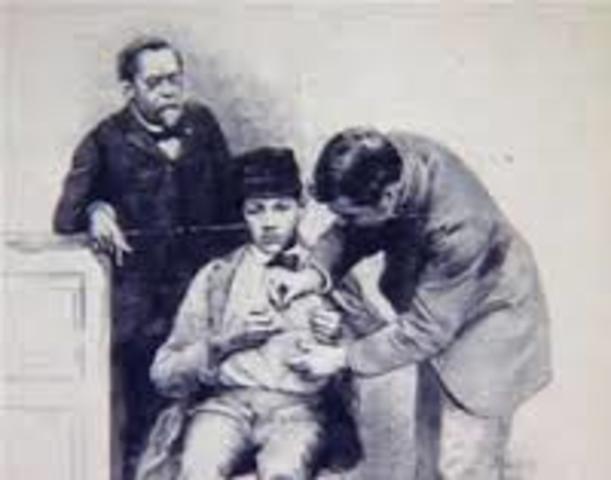 vacuna contra la rabia.