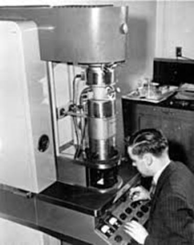 microscopio electrónico.