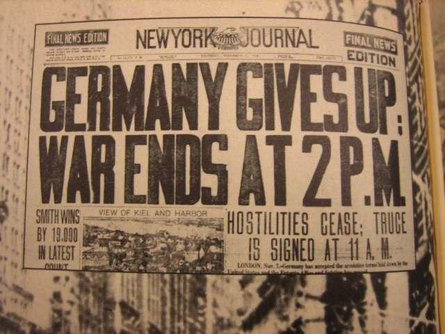 Surrender of Germany