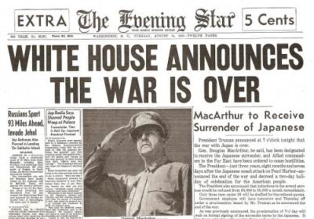 WW II Ends