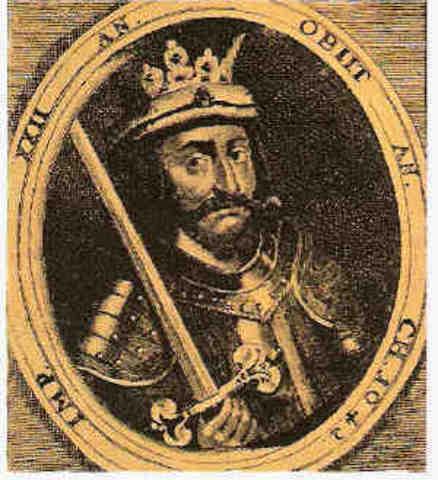 Knud den Store, konge af Danmark 1018-1035